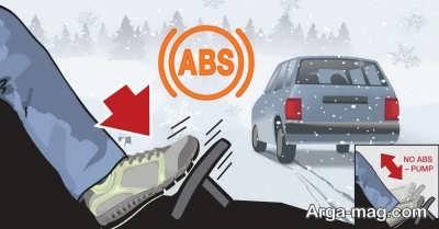 اجزاء سیستم ABS