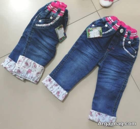 شلوار جین دخترانه بچگانه