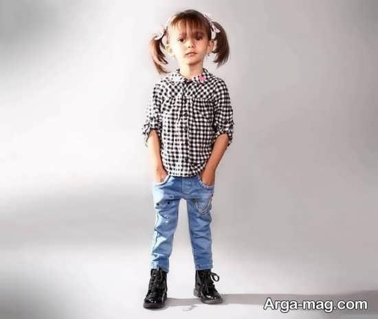 مدل شلوار جین جدید دخترانه
