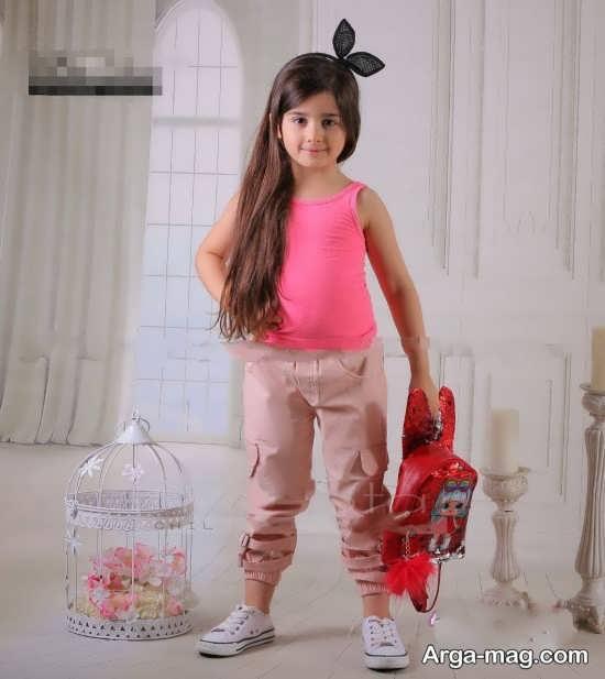 مدل شلوار دمپا کشی دخترانه