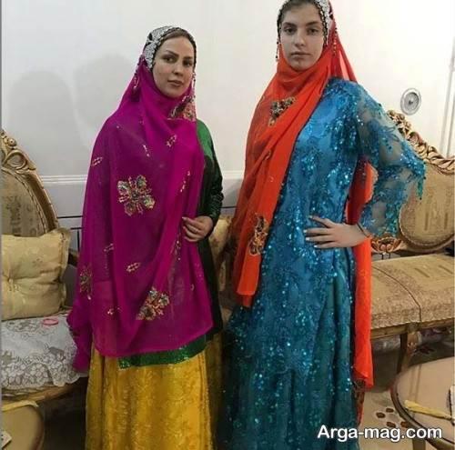 لباس بختیاری زنانه و دخترانه