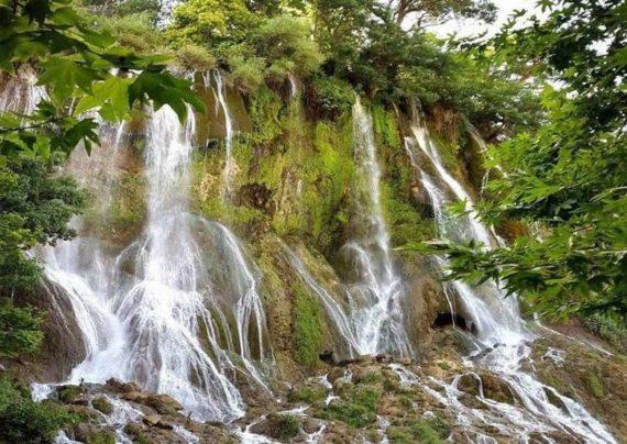 زیبایی های آبشار بیشه