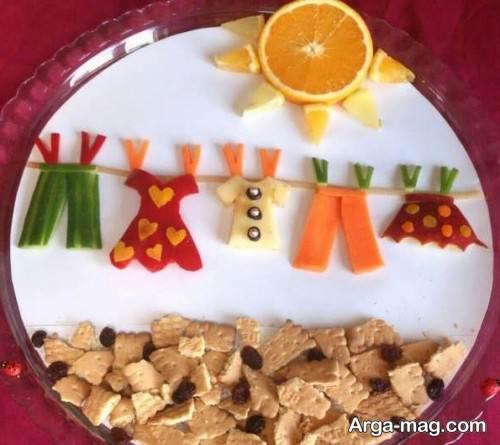 تزیینات صبحانه برای بچه ها