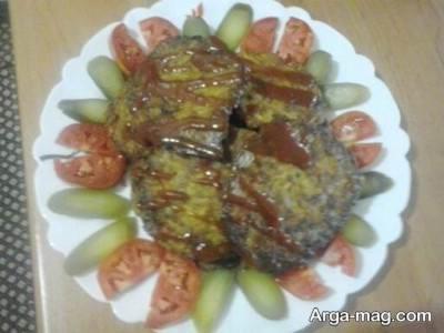 تزیین ساده کوکوی سیب زمینی