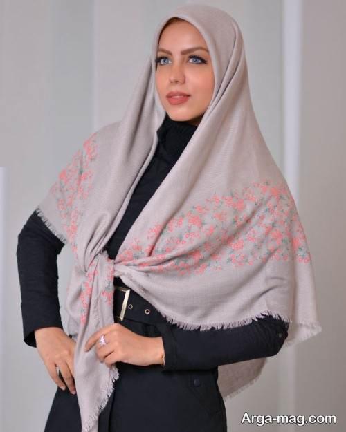 روسری نخی شیک و زیبا