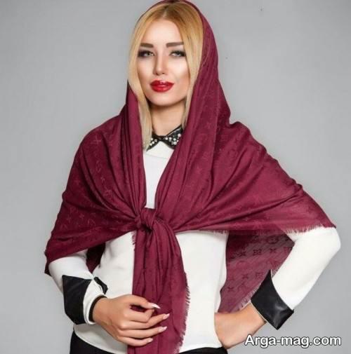 روسری ساده