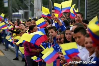 پرچم سرزمین کلمبیا