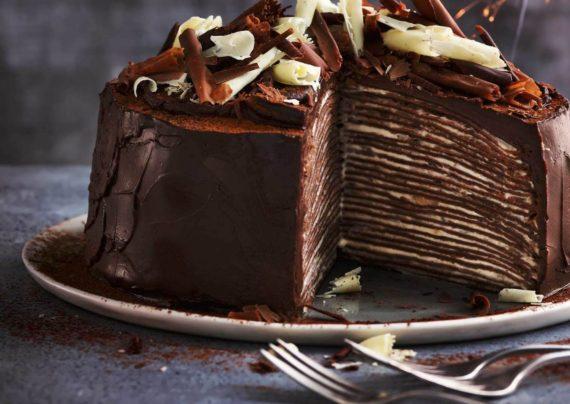 طرز تهیه کرپ کیک