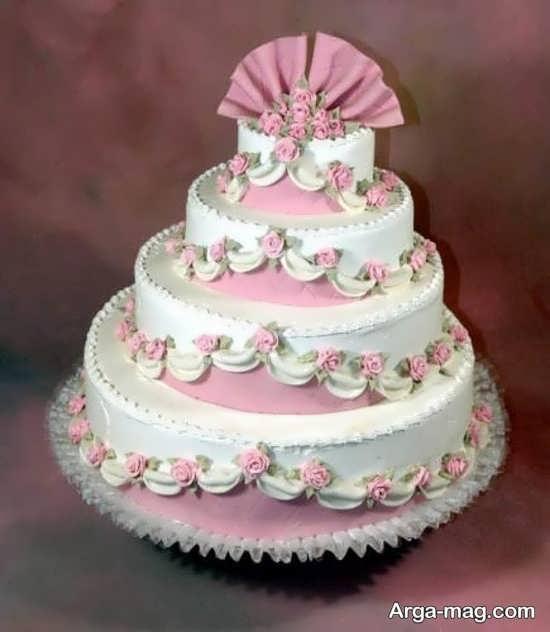 مدلهای تزیینات کیک چند طبقه