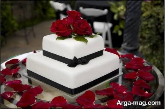 مدل جدید تزیینات کیک چند طبقه