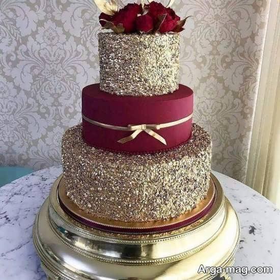تزیین کیک تولد چند طبقه