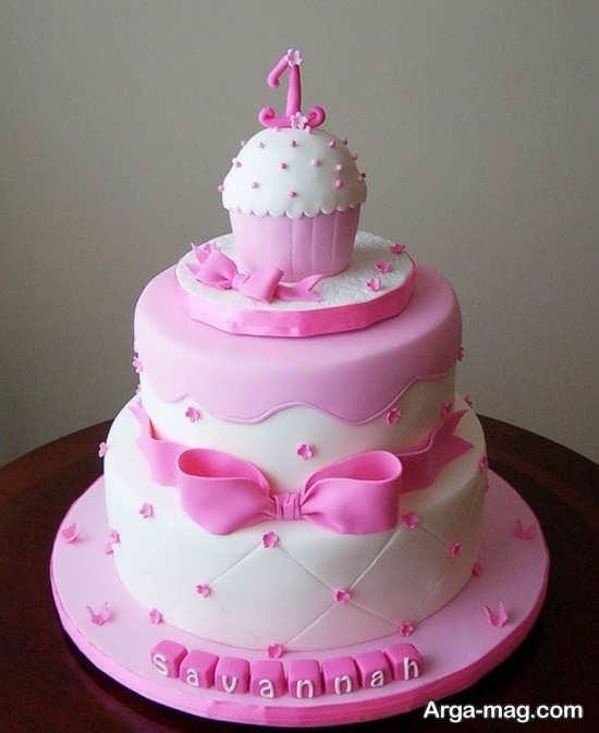 تزیین برای کیک چند طبقه