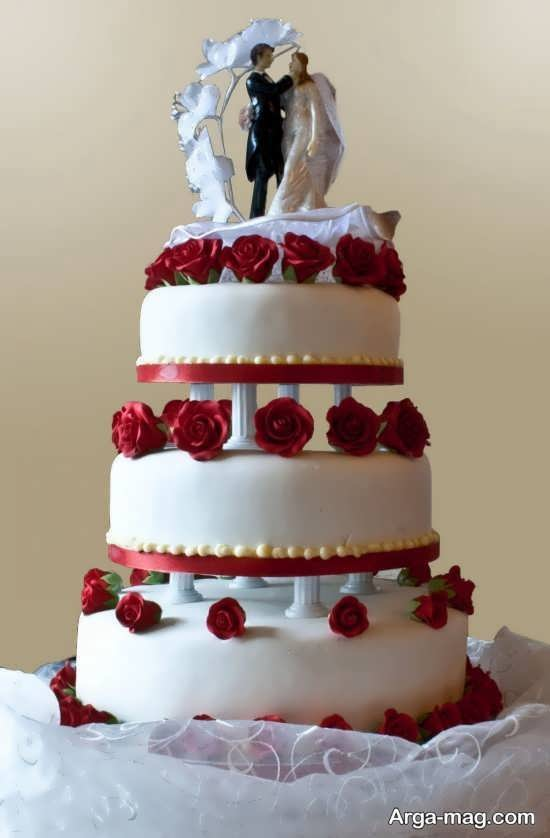 مدل تزیینات کیک چند طبقه