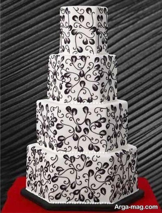 تزیینات کیک چند طبقه