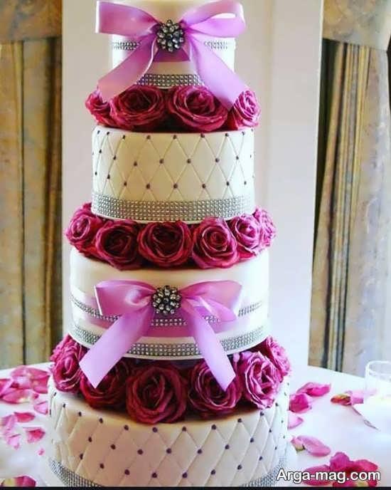 تزیین شیک کیک چند طبقه