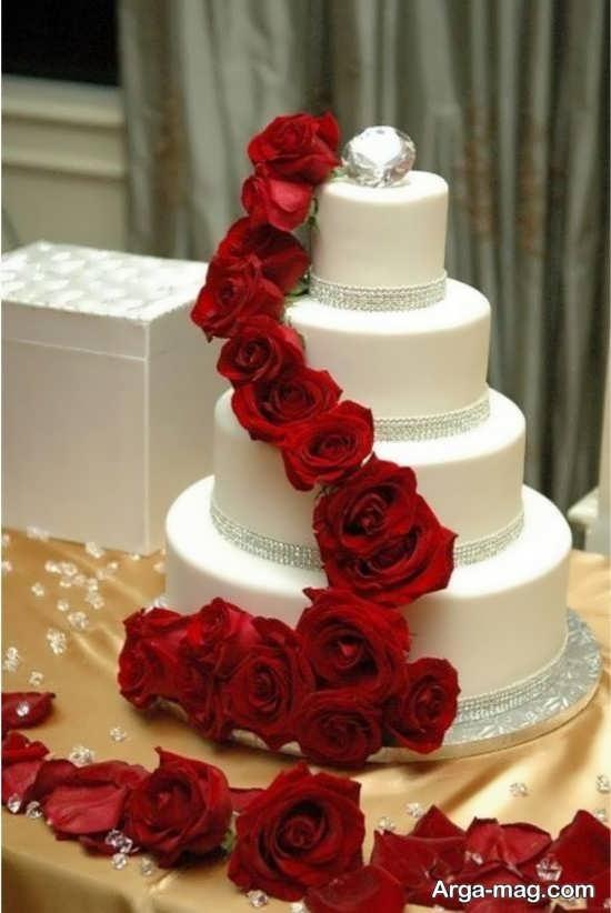 مدل دیزاین شیک کیک چند طبقه