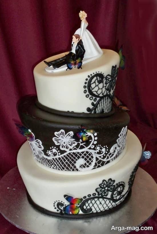 مدل دیزاین کیک چند طبقه