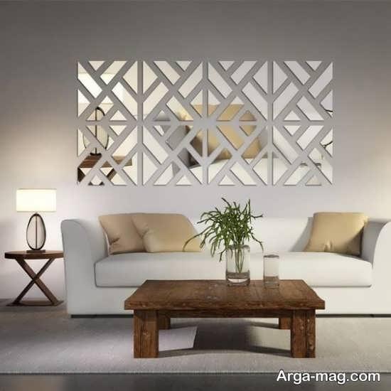 دیزاین خانه با آینه