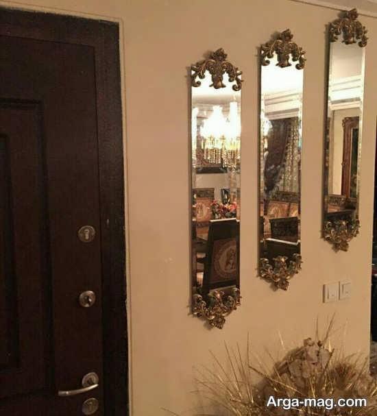 تزیینات منزل با آینه