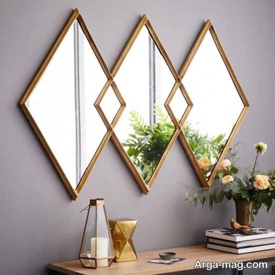 تزیین جذاب خانه با آینه