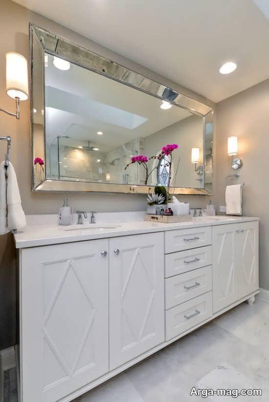 تزیین زیبای خانه با آینه