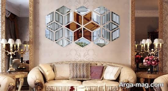 تزیینات زیبای خانه با آینه