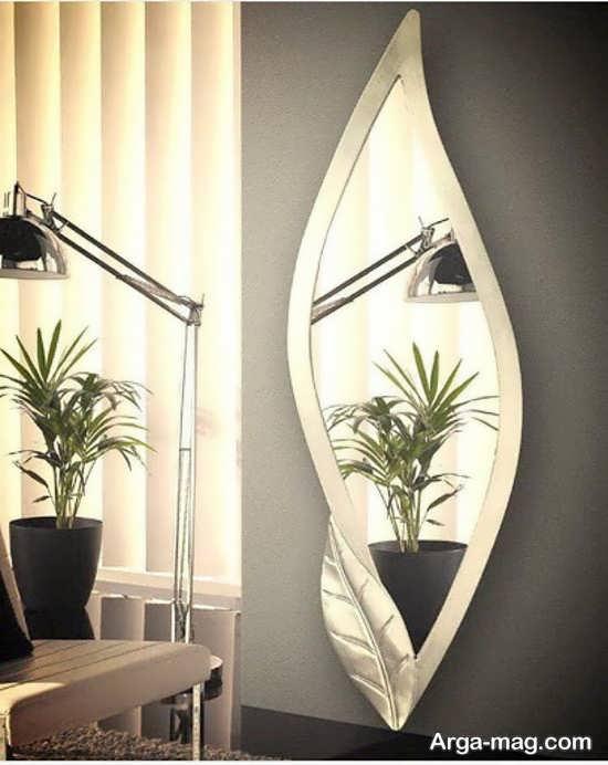 تزیینات شکیل خانه با آینه