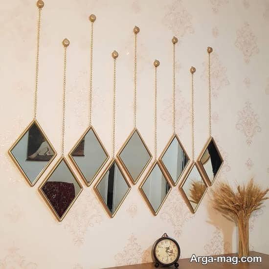 مدل دیزاین خانه با آینه