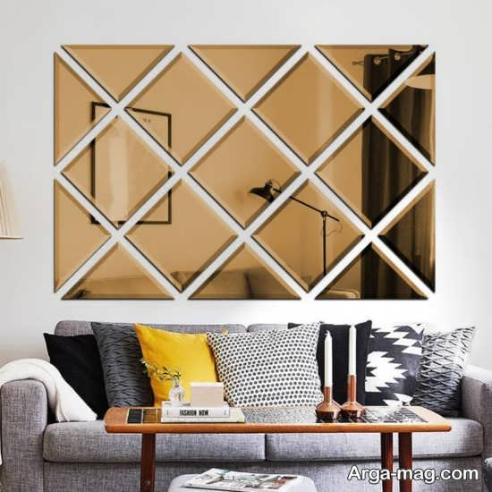 دکوراتیو زیبای خانه با آینه