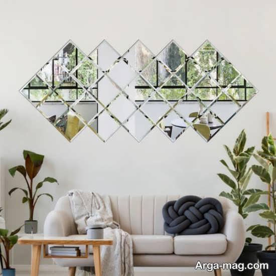 دیزاین منزل با آینه