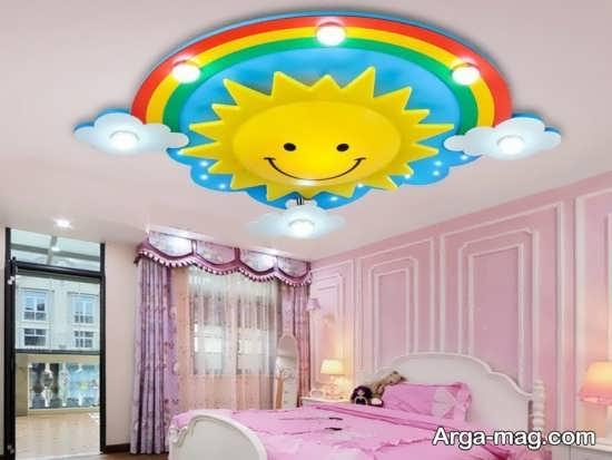 طراحی سقف اتاق کودک