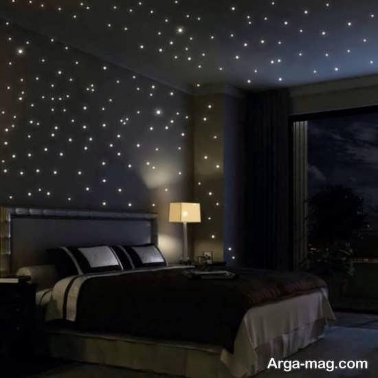 مدل دیزاین سقف اتاق خواب