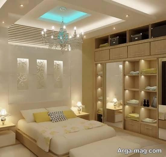 جدیدترین تزیینات سقف اتاق خواب