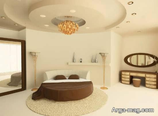 مدل تزیینات سقف اتاق خواب