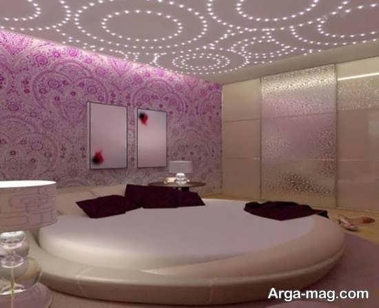 مدلهای سقف اتاق خواب با تزیینات زیبا