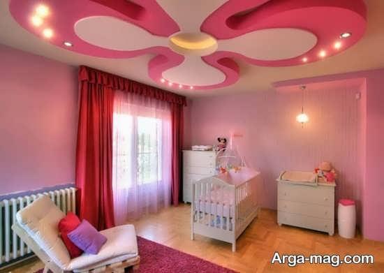 تزیینات سقف اتاق خواب