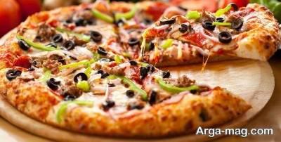 پیتزا مرغ خوشمزه