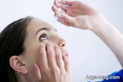 استفاده از لنز و افزایش ترش چشم ها