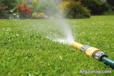 آبیاری لازم برای بستر کاشت گیاه