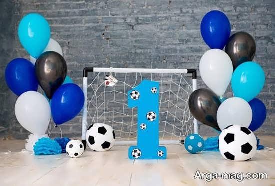 مدلی از تم تولد فوتبال