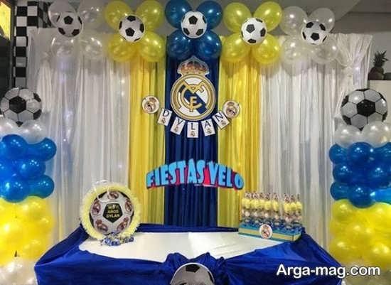 جدیدترین تم تولد فوتبال