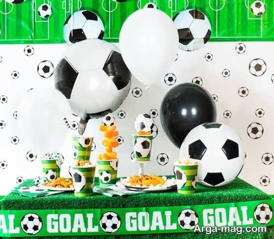 تزیینات جدید تولد فوتبالی