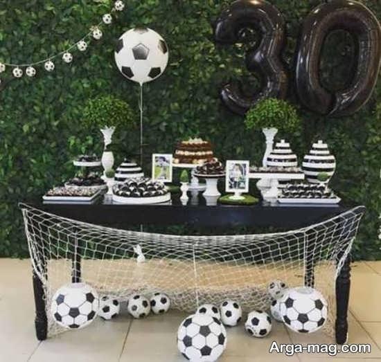 تم جشن تولد فوتبال