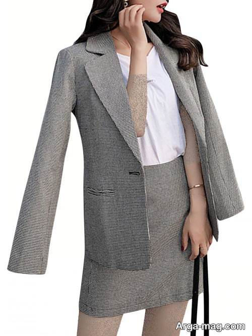 کت دامن رسمی دخترانه
