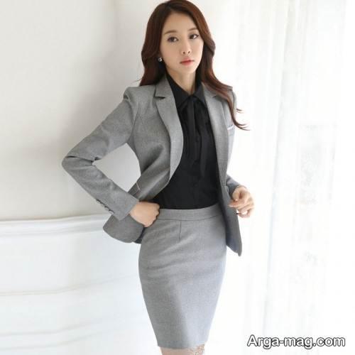 مدل کت و دامن رسمی و جذاب زنانه