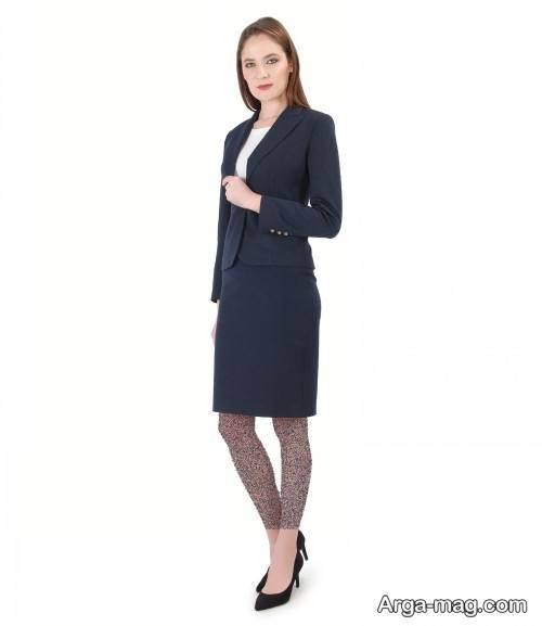 مدل کت و دامن رسمی و شیک زنانه