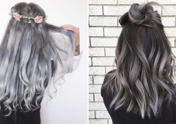 رنگ موی طوسی