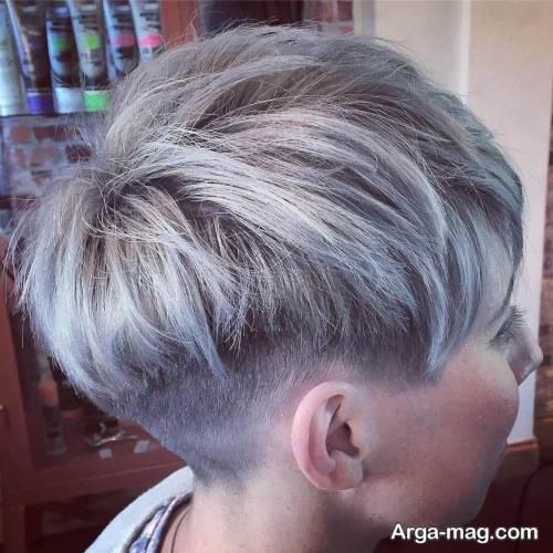 رنگ موی شیک زنانه