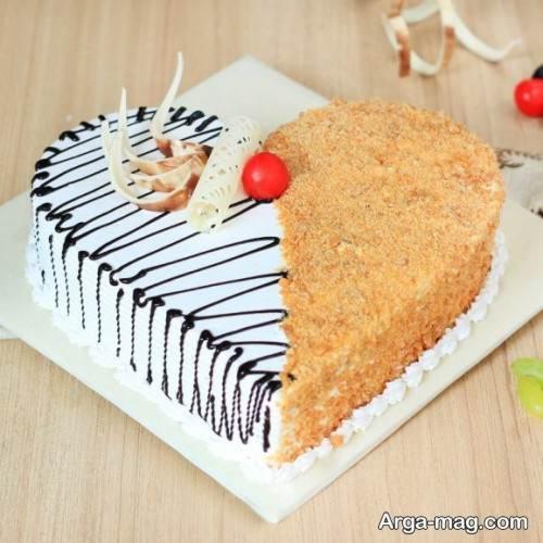 کیک قلبی جدید