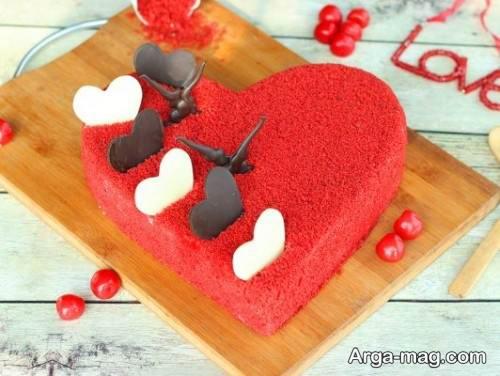 مدل کیک قلبی